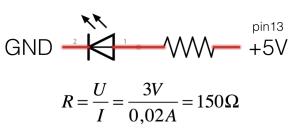 motstand-till-diod