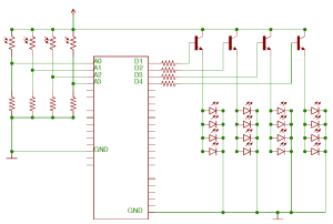 wilma led matrix eagle schematic