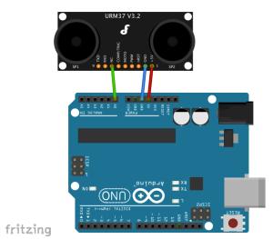 24 ultrasonic sensor