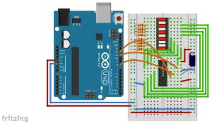 28-led-bar-graph-shift-register-latch